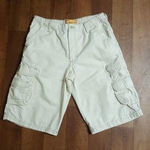 Lee Dungareeas Cargo Shorts.